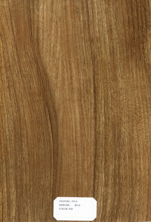 Wood Grain Overlay Decorative Plastic Pvc Manufacturer